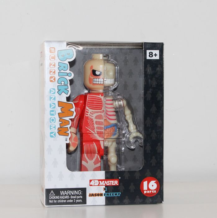 Jason Freeny  Lego - - Brick Man Micro Anatomic