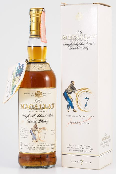 Macallan 7 years old Special Selection - Original bottling - 70 cl