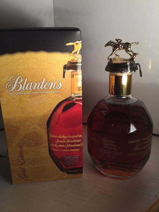 Blanton's Single Barrel Bourbon Whiskey - 0,7 Liter