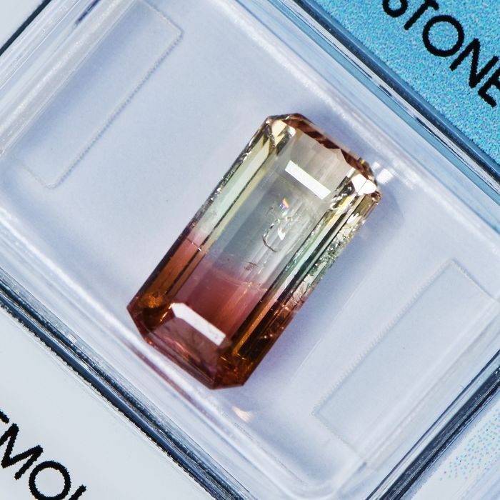 Multicolore Tormalina - 4.14 ct