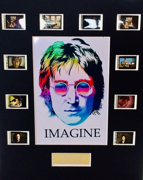 "John Lennon - ""Imagine"" -  Limited Edition Film Used Cell Display - 2017/2017"