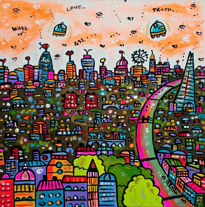 Maria Luisa Azzini -  Vibrant View of London