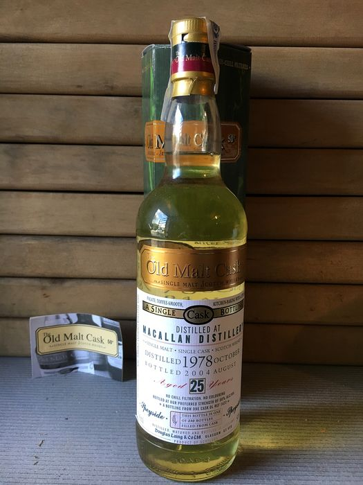 Macallan 1978 25 years old - Douglas Laing - 70cl
