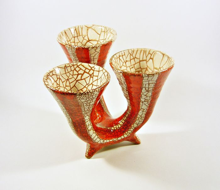 Gorka Géza (1895-1971) - Applied Arts Company - Art Deco Vase
