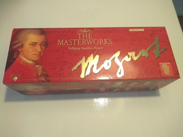 Wolfgang Amadeus Mozart  - The Complete Masterworks - 40 CD Boxset  - CD Box set - 1995