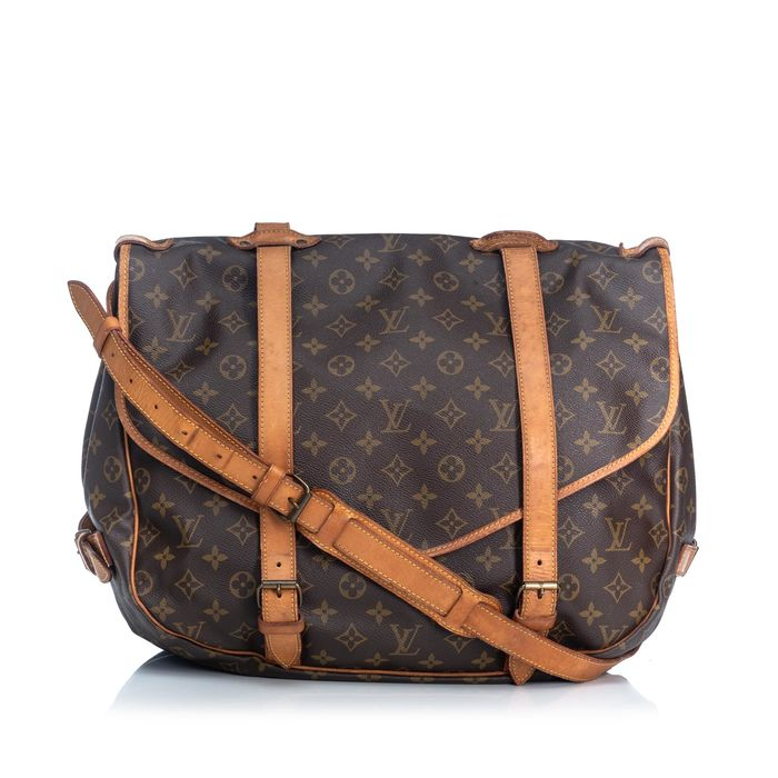 Louis Vuitton - Monogram Saumur 43 Shoulder bag