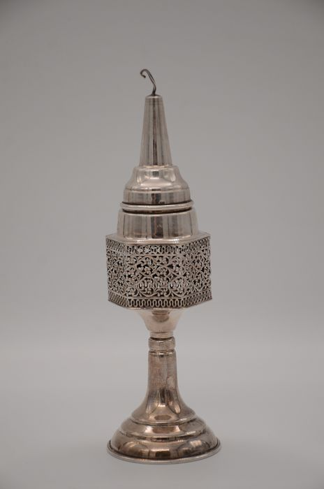 A besamim tower - .925 silver - Israel - 20th century