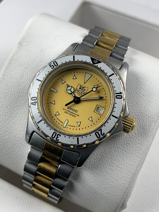 TAG Heuer - 2000 Professional Lady - 974.008 - Dames - 1990-1999