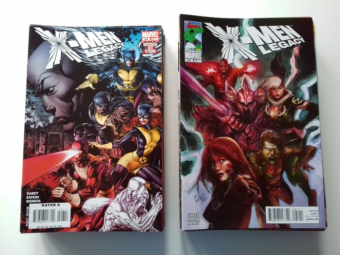 X-men Legacy Complete Set - Issues #208-275 +#260.1 - Erstausgabe