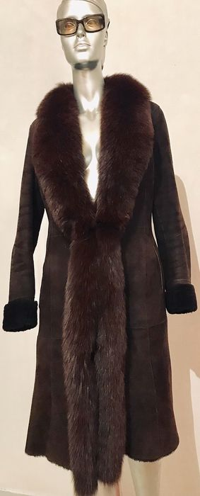 Giorgio cuirs - Fox fur, Lapin fur - Fur coat - Made in: France