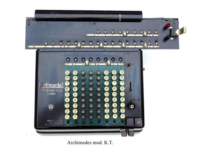 Archimedes - antique calculator