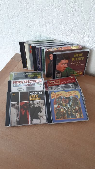 Collection CD's from Gene Pitney(7) and Phil Spector (5) - Multiple artists - Multiple titles - CD's - 1991/2013