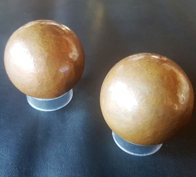 Native copper Sphere - 50×50×50 mm - 1150 g - (2)