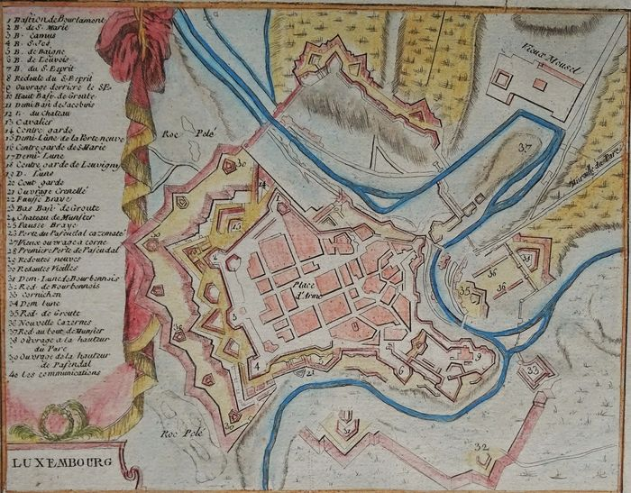 Luxembourg, Luxembourg; Bassompiere - Luxembourg - 1761-1780