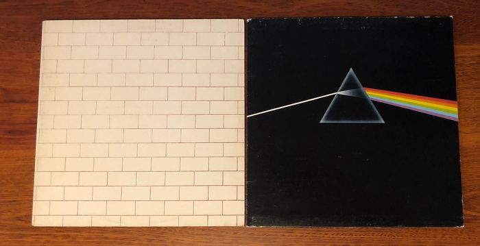 Pink Floyd - The Wall & The Dark Side of the Moon - Multiple titles - LP Album - 1973/1979
