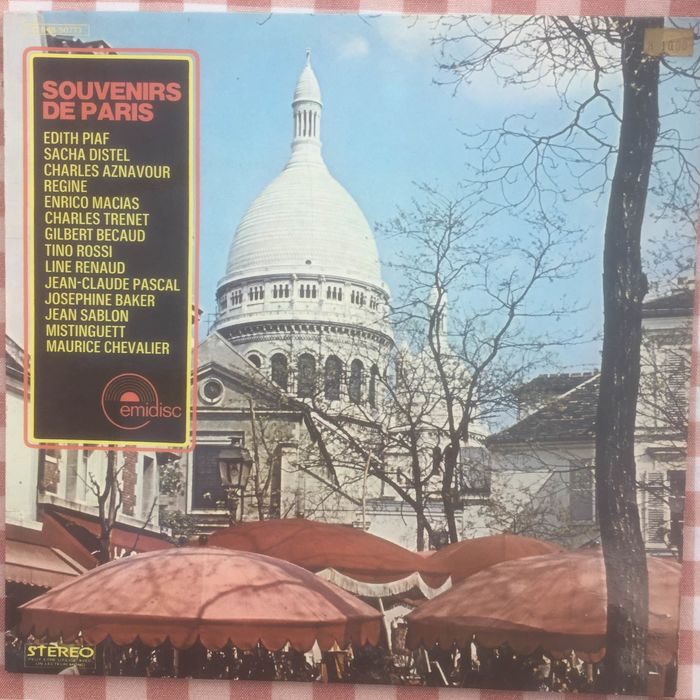 Various Artists/Bands in French/Chanson - Différents artistes - Différents titres - 2xLP Album (double album), LP album - 1972/1976