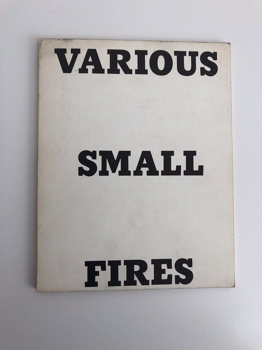 Ed Ruscha  - Various small fires - 1964