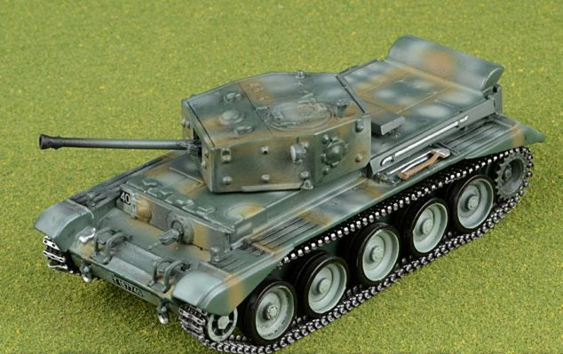 "Solido - CROMWELL MK4 7th ARMOURED DIVISION ""THE DESERT RATS"" NEDERLAND 1944  1:72 Limited Edition - 1940-1949"