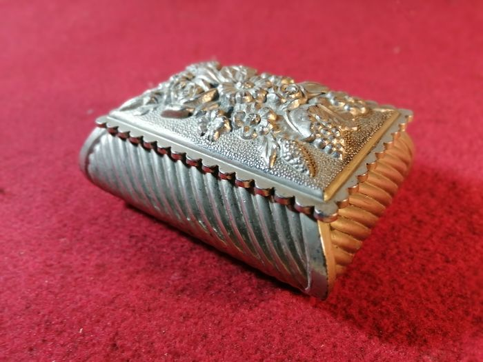 Jewelery box in silverplated 50s - Silver-plated