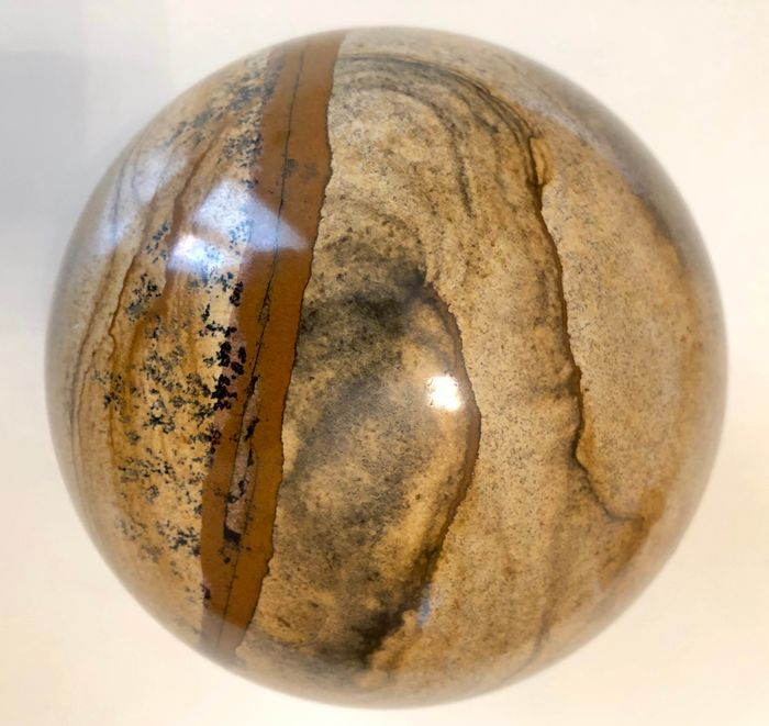 Jasper (variety of quartz) Sphere - 15×15×15 cm - 4,600 g
