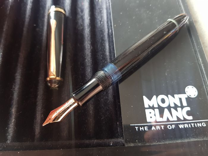 Montblanc - Stylo plume 3-44G - Pointe en or massif 14 carats (OM)