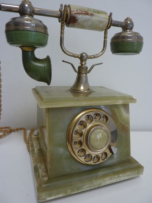Lovely marble phone - Onix Telephone Made in Italy - Telephone - Onyx