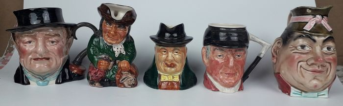 Selection of Toby Jugs (5) - Ceramic