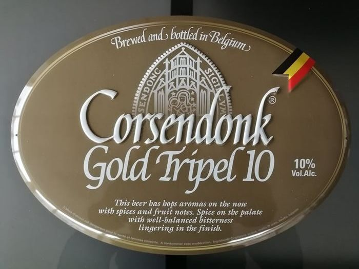 Corsendonk Tripel - Advertising sign - Metal