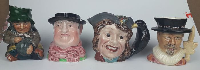 Selection of Toby Jugs (4) - Ceramic