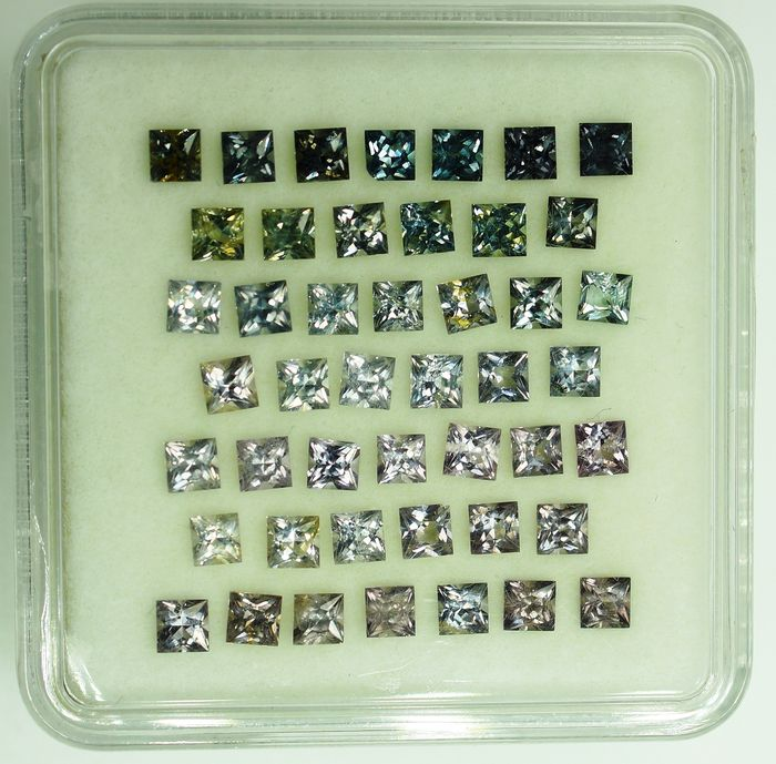 46 pcs  Spinel - 5.04 ct