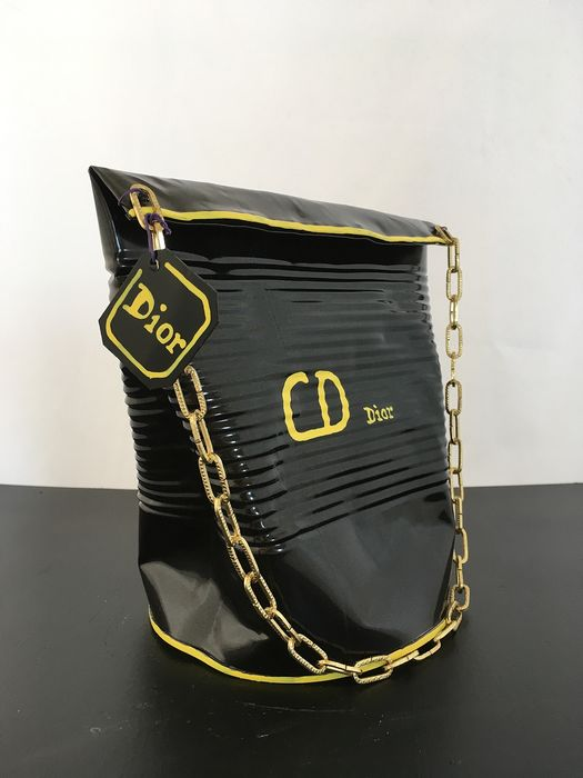 Norman Gekko - Crushed Dior handbag