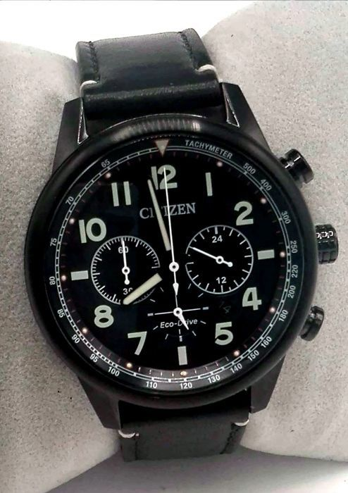 "Citizen - Collezione AVIATOR Chrono Aviator Eco Drive - AW1523 - ""NO RESERVE PRICE"" - Heren - 2011-heden"