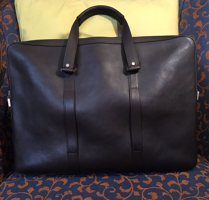 Delvaux - Delvaux 1829 President bag by Bruno Pieters Double briefcase