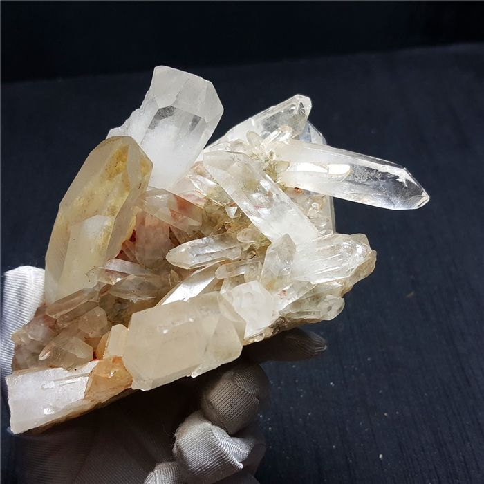Quartz Crystal cluster - 98×76×55 mm - 720 g