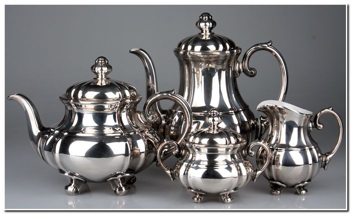 WMF - Coffee and tea service - Silver plated