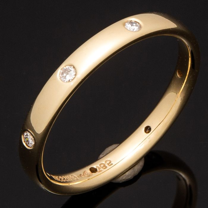 Niessing - 14 quilates Oro amarillo - Anillo - 0.24 ct Diamante