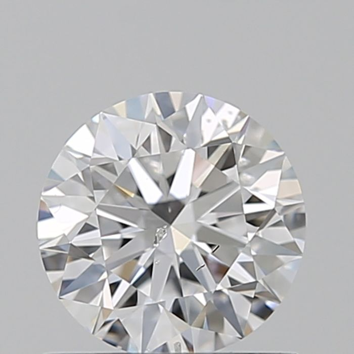1 pcs Diamant - 0.70 ct - Brillant - D (farblos) - SI2