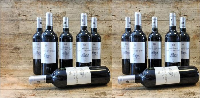 2014 Le Bordeaux de Larrivet Haut-Brion - Bordeaux - 12 Bottles (0.75L)