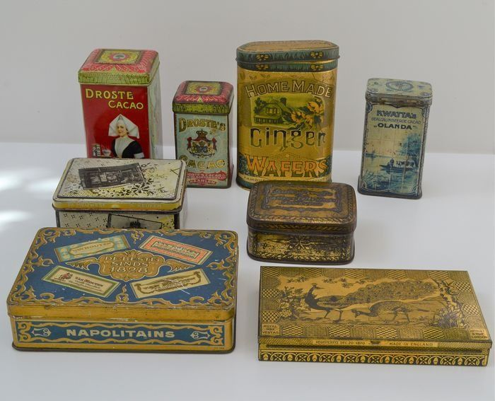 Various brands - tin (8) - tin