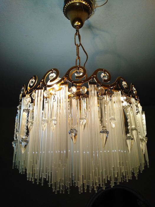 Ceiling lamp - Bronze (gilt/silvered/patinated/cold painted)