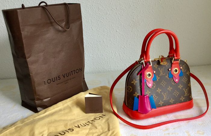 Louis Vuitton Totem Monogram Canvas Alma Bb Shoulder Bag Catawiki