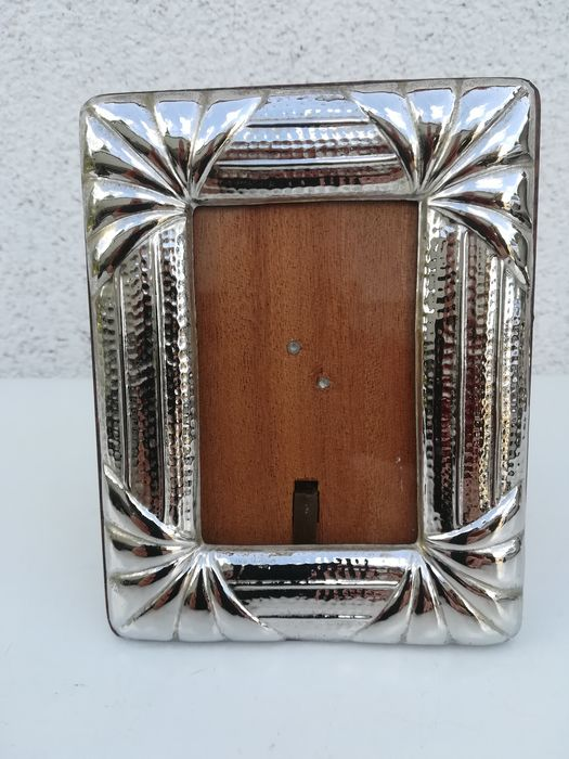 Picture frame - Silverplate