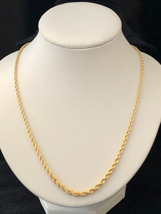 18 carats Or - Collier