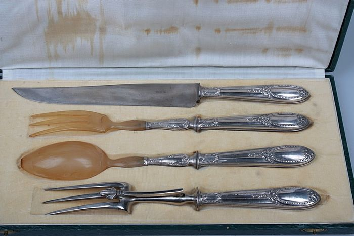A large set of silver cutlery - .950 silver - France - First half 20th century
