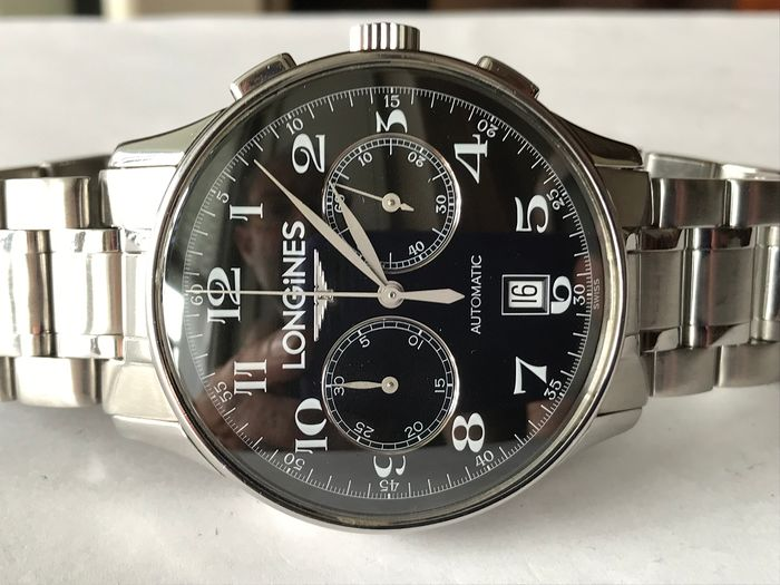 longines master collection - cronografo automatico - Heren - 2011-heden