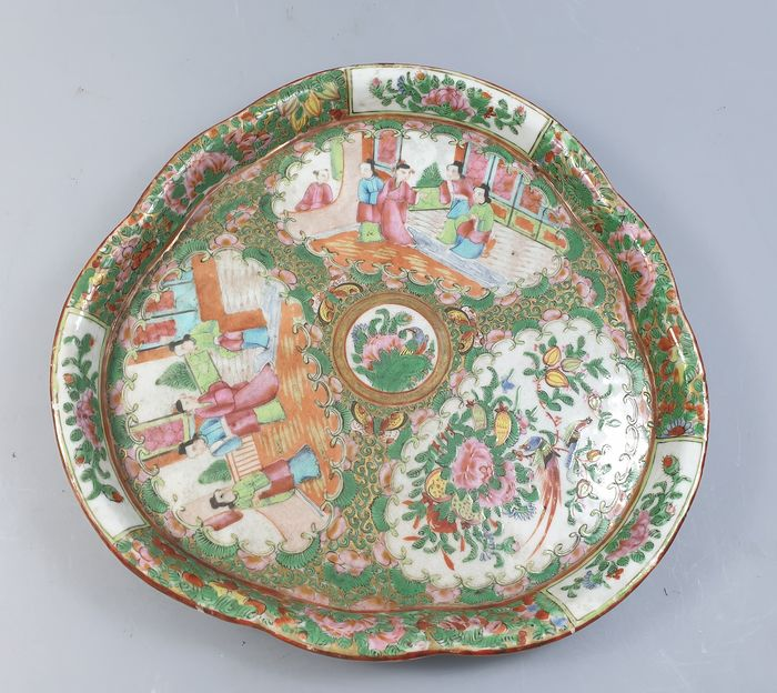 Tray - porcelain - China - Guangxu (1875-1908)