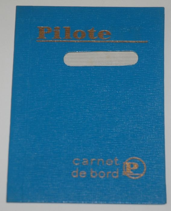 Pilote  - Carnet de bord - Club Pilote - Hardcover - First edition - (1959)