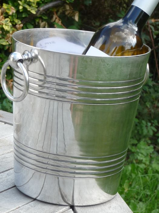 wiskemann - wiskemann beautiful heavy and deep silver-plated Ice bucket 1917 g - Silverplate