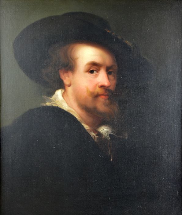 Follower of Frans Hals (1582-1666) - Portrait of a Gentleman
