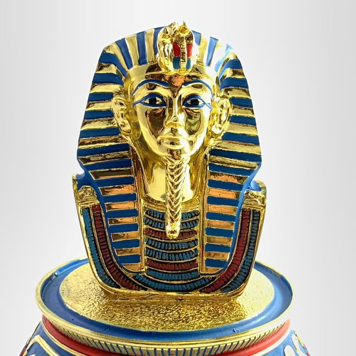 "Franklin Mint - The Treasure of King Tutankhamun ""The Mask Of Tutankhamun"" - With 22ct gold plated elements"